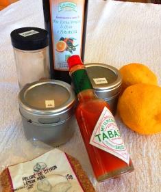 ingredient - noix grillees epicees