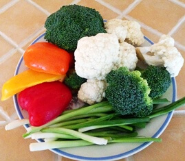 ingredients salade choufleur et brocoli tp