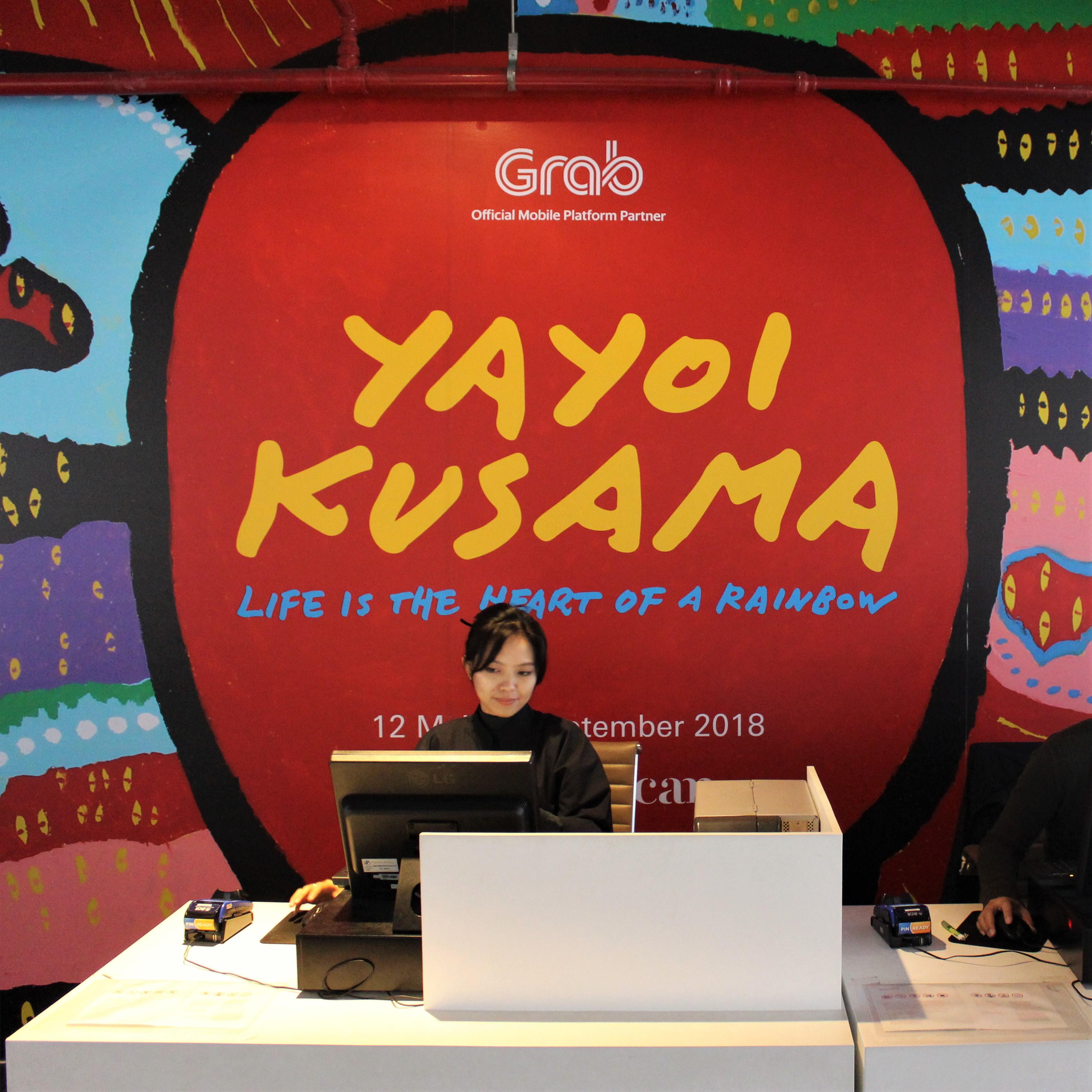 Yayoi Kusama at Museum MACAN, Jakarta
