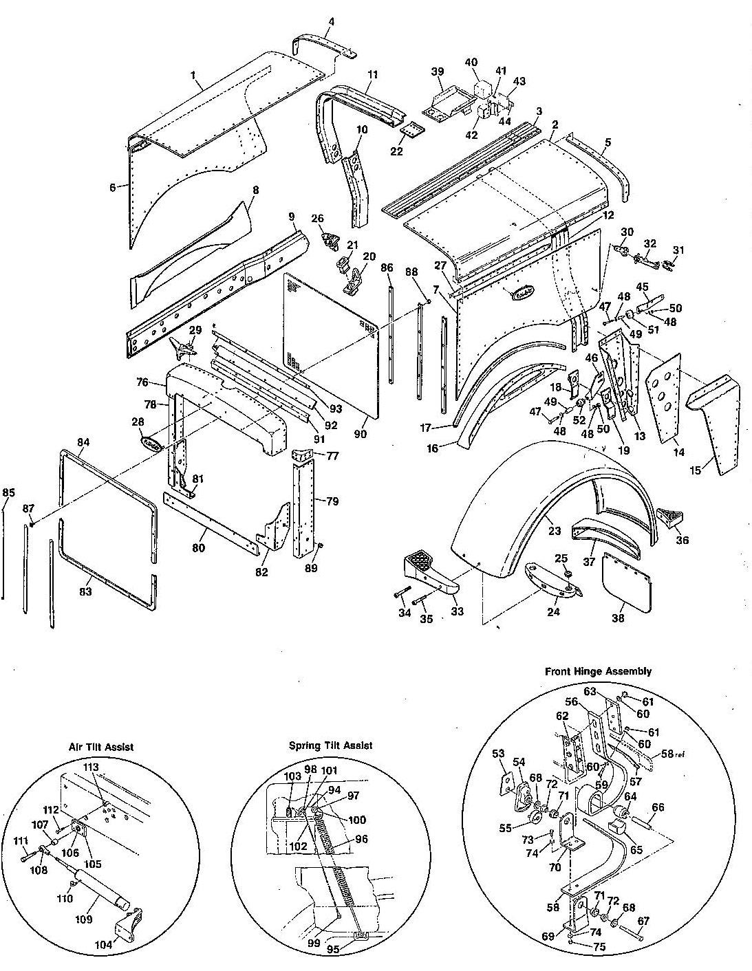 Hood Diagram Amp Parts