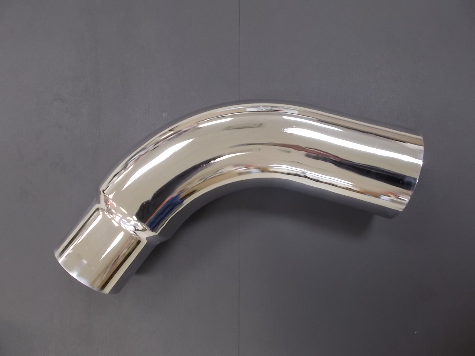 dirks1444 peterbilt 359 chrome exhaust elbow 6 reducing to 5