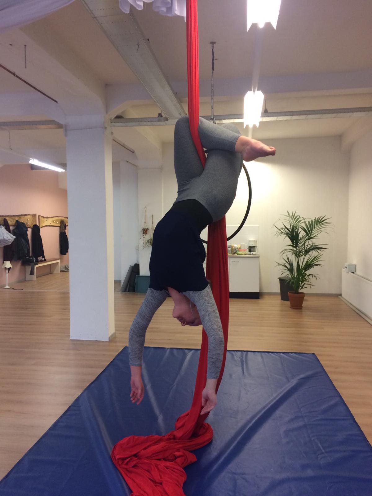 Aerial Hoop ,-en Silk