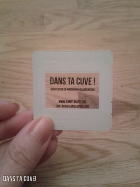 DIY : Cartes de visite diapo