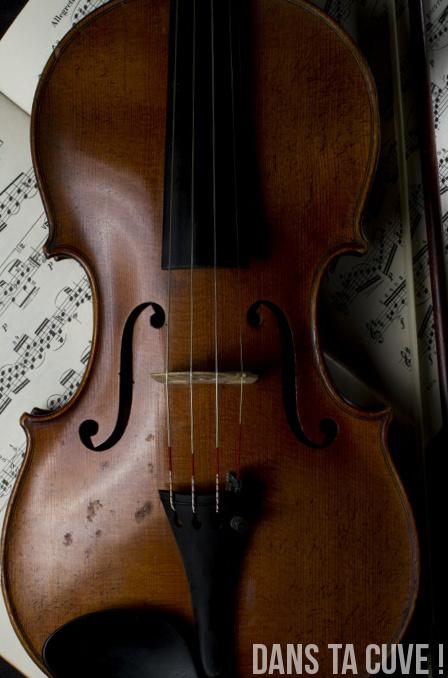 Aperçu numérique du violon
