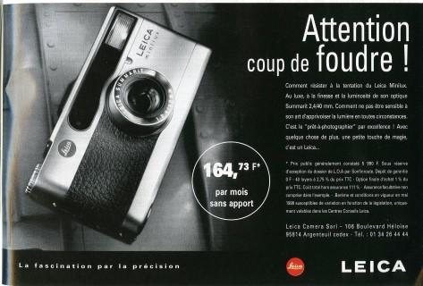 Publicité Leica