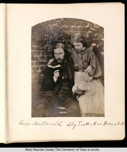 George MacDonald et sa femme par Charles Lutwidge Dodgson