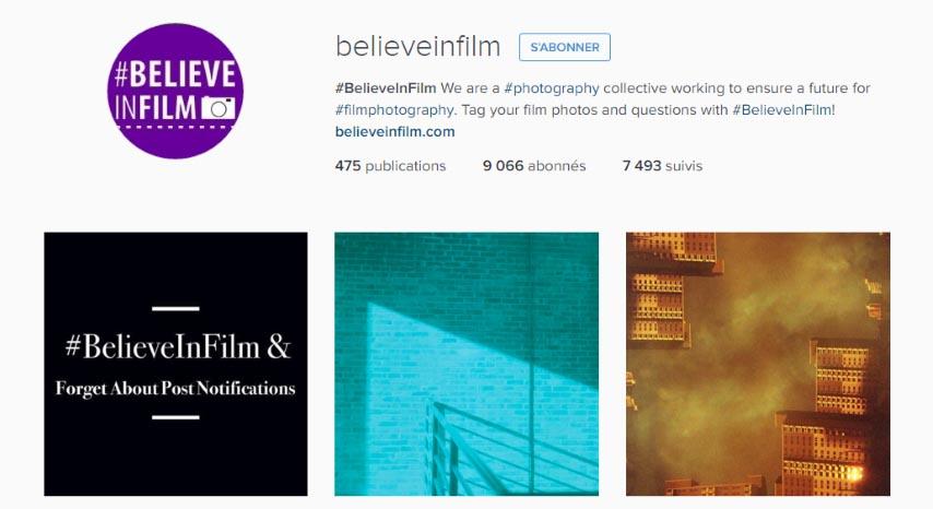 instagram - @believeinfilm