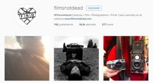 Instagram - @filmsnotdead