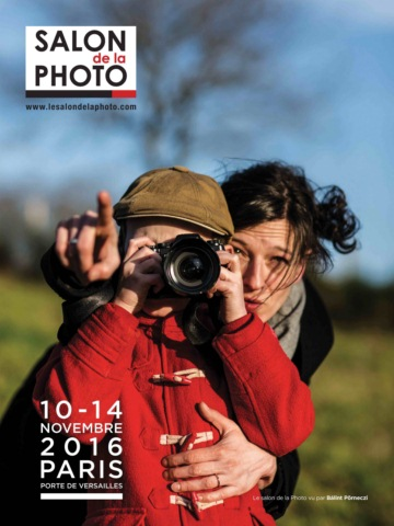 Affiche du Salon de la Photo 2016 par Bálint Pörneczi
