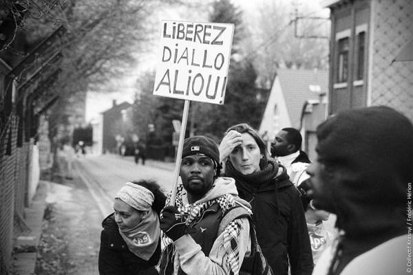 Manifestation contre le centre fermé de Vottem à Liège | 2016 (Krasnyi)