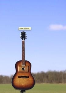 Street Box Camera - Sténopé Guitare