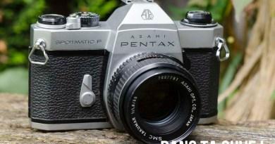 Test : Asahi Pentax Spotmatic F