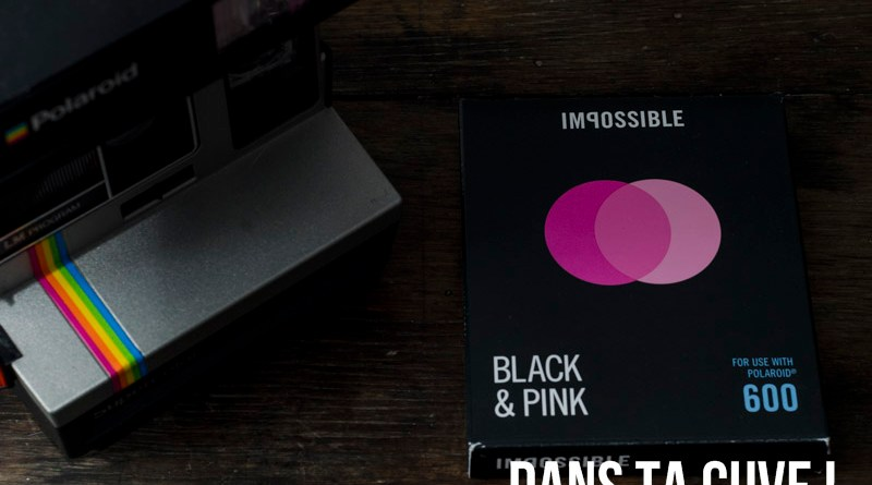 Impossible Project Black & Pink