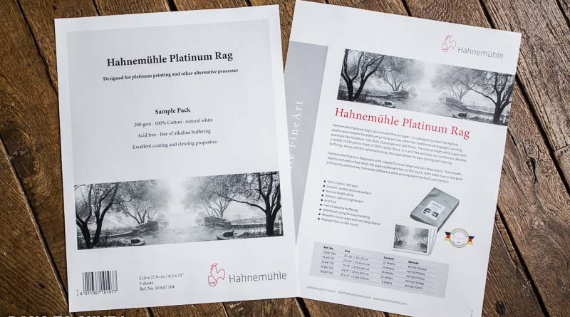 Test: Hahnemühle Platinum Rag