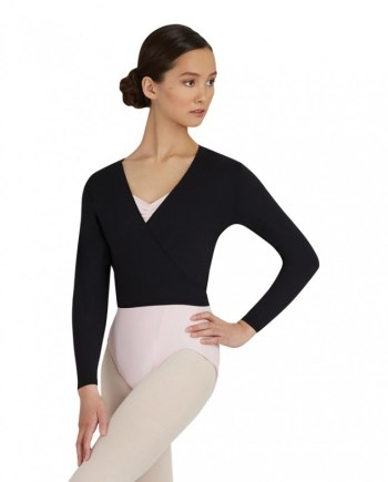 crossover wrap top Capezio TC0010