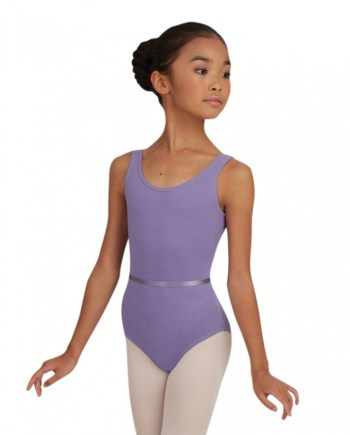 CAD200C Capezio tank leotard w/belt balletpakje hemd model