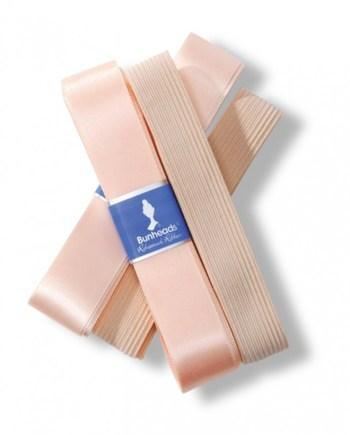 ribbon elastic pack capezio bunheads