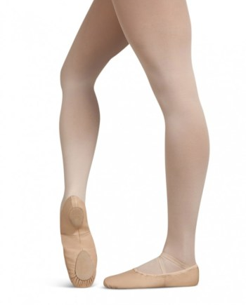 Capezio U2033 leren balletschoentje laather cobra