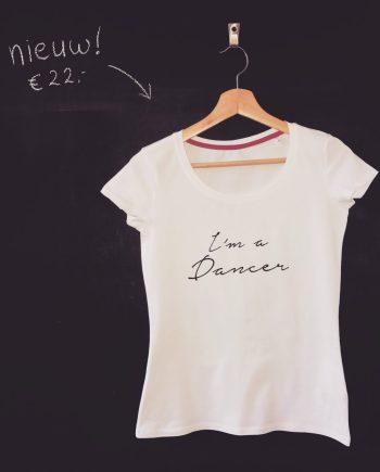 im a dancer t-shirt, dansshirt danskleding