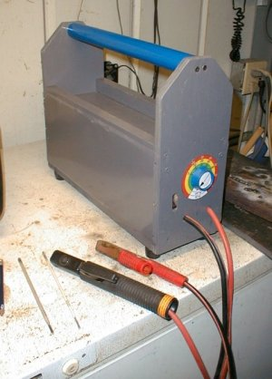 Homebuilt arc welder – Dan's Workshop Blog