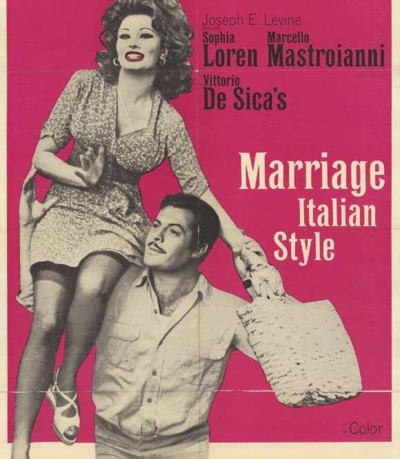 Matrimonio all'italiana | Friday, December 5, 2014 at 7:15pm