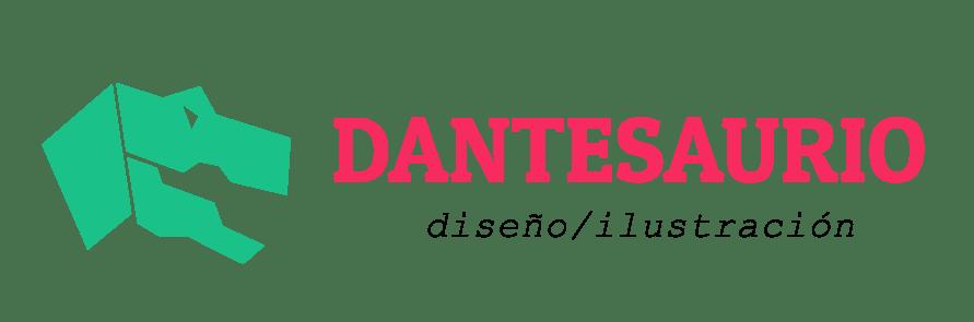 Logo Dantesaurio Diseño e Ilustración