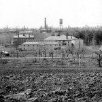 The farm complex in the 1920s