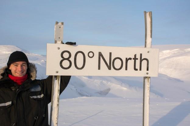 Dan Weaver at 80 degrees North