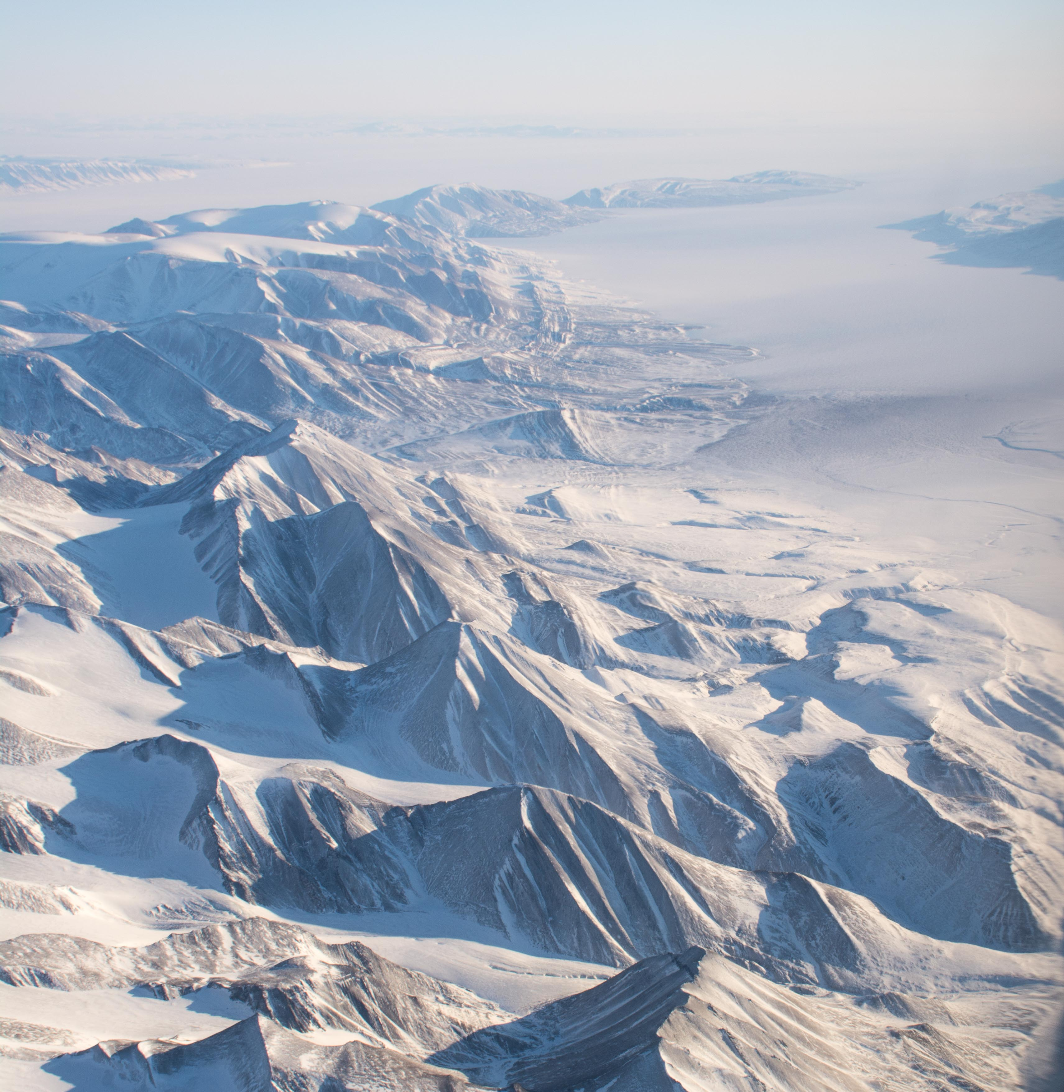 Canadian High Arctic scenery a short fly south of Ellesmere Island