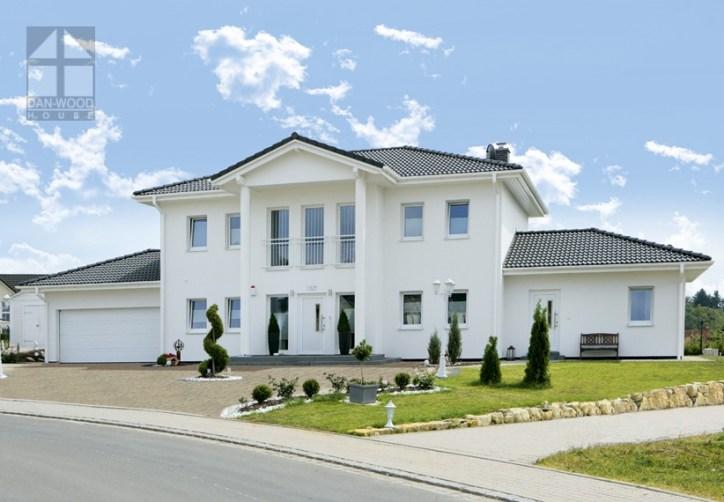 Zweigeschossige Häuser