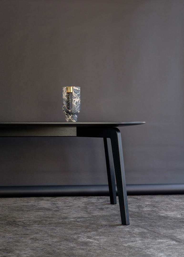 skinny table work dan yeffet design
