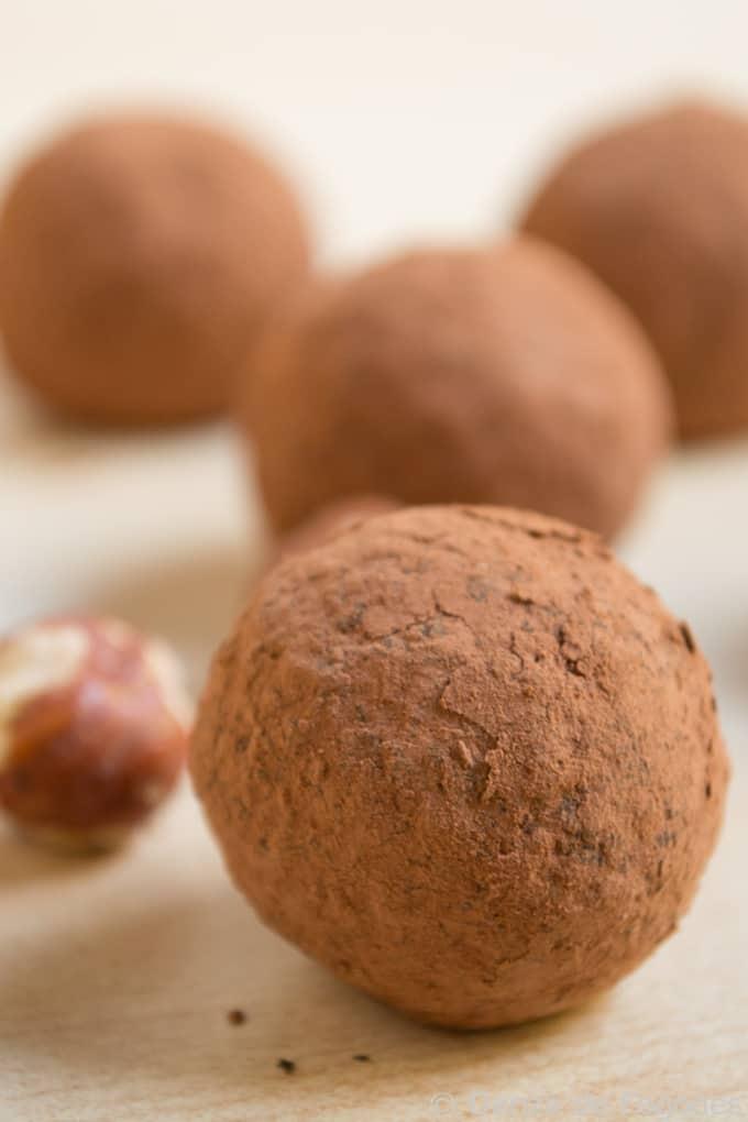 trufas1 Trufas de chocolate