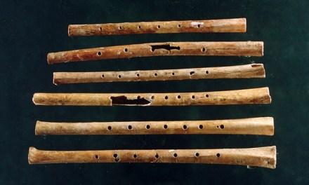 El sonido de flauta más antiguo