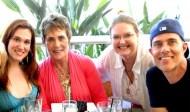 My family - Paton Ashbrook, D'Ann Paton, Taylor Ashbrook, Dana Ashbrook