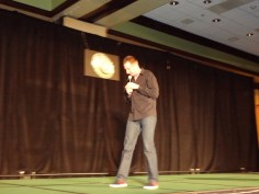 Gallifrey One 2013 - Charlie Ross stand-up!