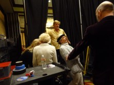 Gallifrey One 2013 - Backstage with Sylvester McCoy and Mark Strickson