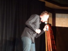 Gallifrey One 2013 - Charlie Ross doing his brilliant stand-up!