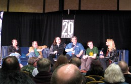 Podshock live podcast at Gally 2008