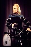 """Star Trek: DS9 - As ""Melora"" - The chair"