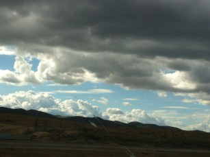 Clouds over Coalinga