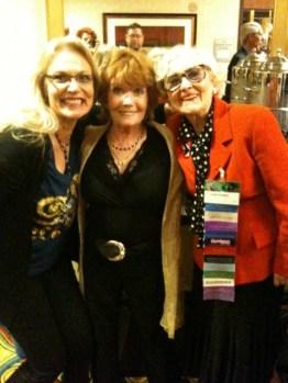 Gally 2013 - With Deborah Watling and June Hudson