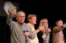 Gallifrey One 2013 - With Sylvester McCoy, Mark Strickson and Michael Jayston Cheers!