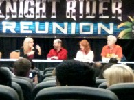 Knight Rider Convention 2012 - With Alan Levi, Jeffrey Osterage and Sondra Currie