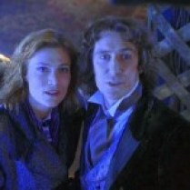 "With Paul McGann in ""Doctor Who"""