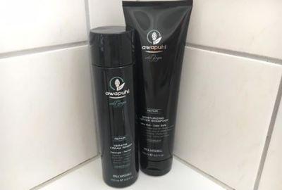 Bild des Shampoos und Conditioners von der Paul Mitchell Haarpflege