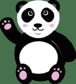Panda Kawaii Rose