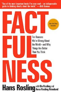 Factfulness by Hans Rosling - cover