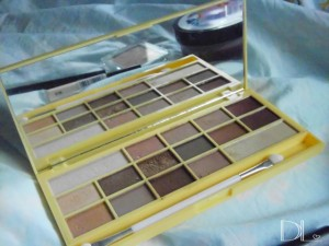 I heart make-up naked chocolate palette