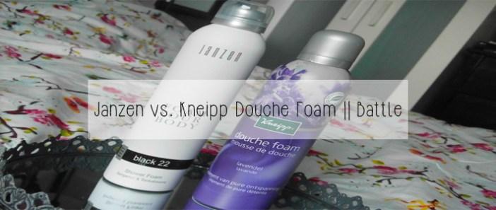 Janzen vs Kneipp Douche Foam || Battle