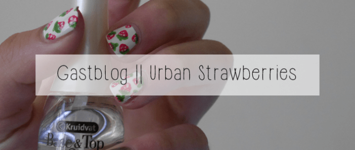 Urban strawberries banner